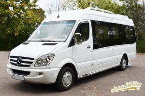 Заказ транспорта микроавтобус
