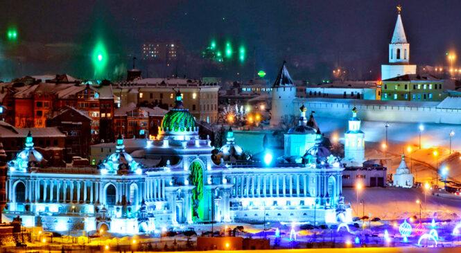 Автотур из Костромы «Казань. Новогодняя мозаика.»
