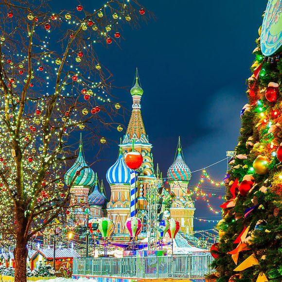 Новогодний тур москва
